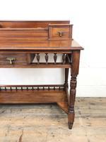 Antique Edwardian Mahogany Desk (6 of 12)