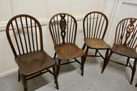Collection of 8 Beech & Elm Country Windsor Chairs (4 of 12)