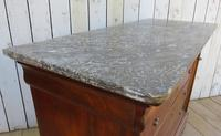 Antique French Marble Top Chest Of Drawers (3 of 12)