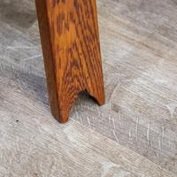 Arts & Crafts Tripod Table (2 of 7)
