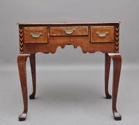 Decorative 18th Century Oak Lowboy (7 of 9)