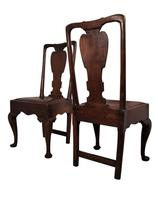 Four Oak and Elm Chairs (5 of 5)