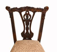 Set of Antique Child Chairs Chippendale Queen Anne (3 of 16)