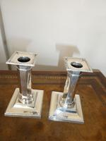 Pair of Silver Candlesticks (2 of 10)