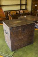 Early 19th Century Oak Box (4 of 5)