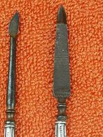 Antique Sterling Silver Hallmarked Vanity Cuticle File 1917/18 W G Sothers & Co , Birmingham (3 of 7)