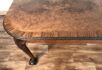 Burr Walnut Extending Dining Table (12 of 17)