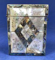 Victorian Abalone & Mother of Pearl Card Case (2 of 11)