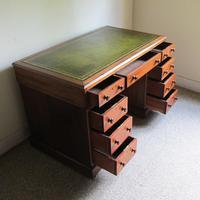 Mahogany Pedestal Desk (3 of 7)