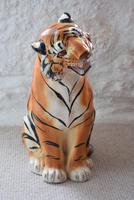 Large Mid-Century Italian Ceramic Tiger (3 of 10)