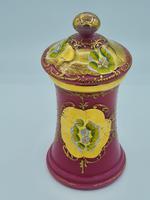 Antique Opaline Glass Jar (2 of 10)