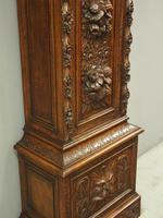 Flemish Carved Oak Grandfather Clock (10 of 13)