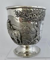 Stunning Irish Silver Beaker - Dublin 1867 (4 of 6)