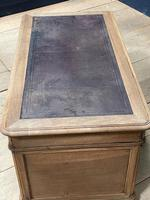 Quality 19th Century French Bleached Pedestal Desk (8 of 25)