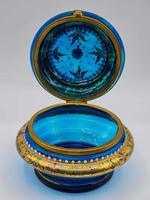 Antique 19th Century Moser Glass Enamel Box (4 of 11)