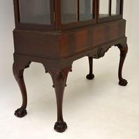 Antique Victorian  Mahogany Display Cabinet (8 of 11)