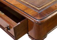 Beautiful Mahogany Writing Desk (8 of 8)