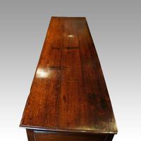 Fine George III Oak Cabriole Leg Dresser (8 of 8)
