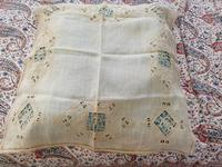 2 Small Pieces of Antique European Linen, Italian Figural Reticella + 2nd in Madeira work.
