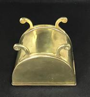 Aesthetic Movement Brass Tea Caddy (4 of 7)
