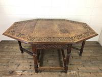 Early 20th Century Oak Gateleg Table (9 of 12)