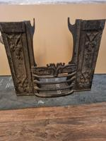 Early Victorian Cast Iron Hob Grate