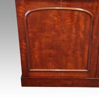Victorian mahogany library bookcase (7 of 11)