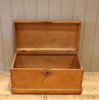 Late Victorian Pine Chest c.1880 (7 of 9)