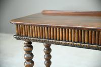 Victorian Mahogany Side Table (8 of 8)