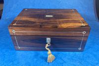William IV Rosewood Jewellery Box (13 of 13)