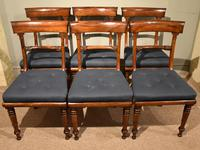Set of Six William IV Dining Chairs