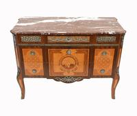 Neo Classical Swedish Commode Marquetry Chest of Drawers Scandanavian (3 of 16)