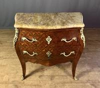 French Stamped Louis XV Kingwood Bombe Commode (3 of 13)