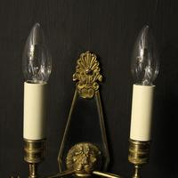French Pair Of Empire Antique Wall Lights Oka (3 of 10)