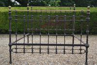 Original Victorian Brass and Iron King Size 5ft Bedstead. Bed Fully Restored in Your Choice of Colour (5 of 15)