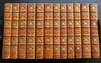 1898 Works of Henry Fielding 12 Volume Limited Edition set in Zaehnsdorf Leather Bindings