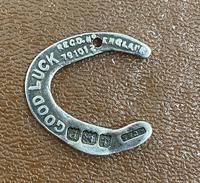 Silver Wartime Lucky Horseshoe Mascot 1939 (4 of 4)