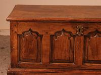 Small English Chest in Oak - 18th Century (5 of 16)