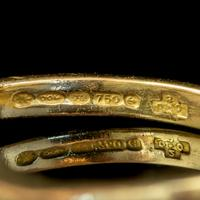 Antique Edwardian 1ct Diamond Twist Ring 18ct Gold Circa 1910 (5 of 9)