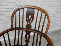 19th Century Windsor Lowback Armchair (4 of 7)