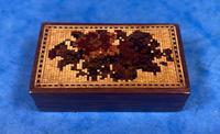 Rosewood & Mosaic Tunbridge Ware Box (4 of 12)