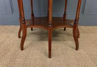 Edwards & Roberts Inlaid Mahogany Centre Table (5 of 15)