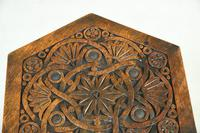 Moorish Chip Carved Octagonal Occasional Table (6 of 13)