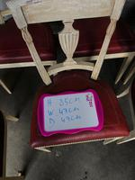 Set of 8 French Directoire Dining Chairs (7 of 16)