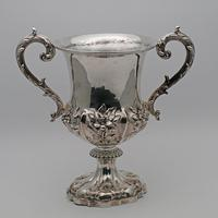 William IV Large Two Handled Silver Cup (2 of 3)