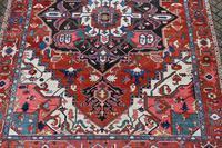 Fine Antique Heriz Room-size Carpet 389x283cm (3 of 11)