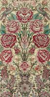 Fine Silk Carpet Rug Roses (4 of 9)