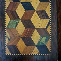 Small Parquetry Inlaid Tray (5 of 5)