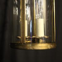 French Gilded Triple Light Antique Lantern (7 of 7)