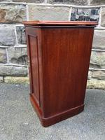 Antique Mahogany Bedside Cabinet (6 of 10)